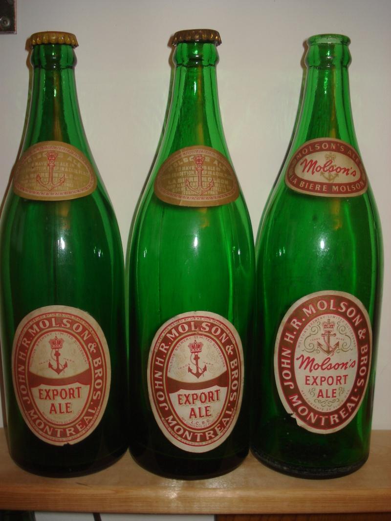 La bière que votre arrière grand-père buvait.  La Molson et autres produits 00517