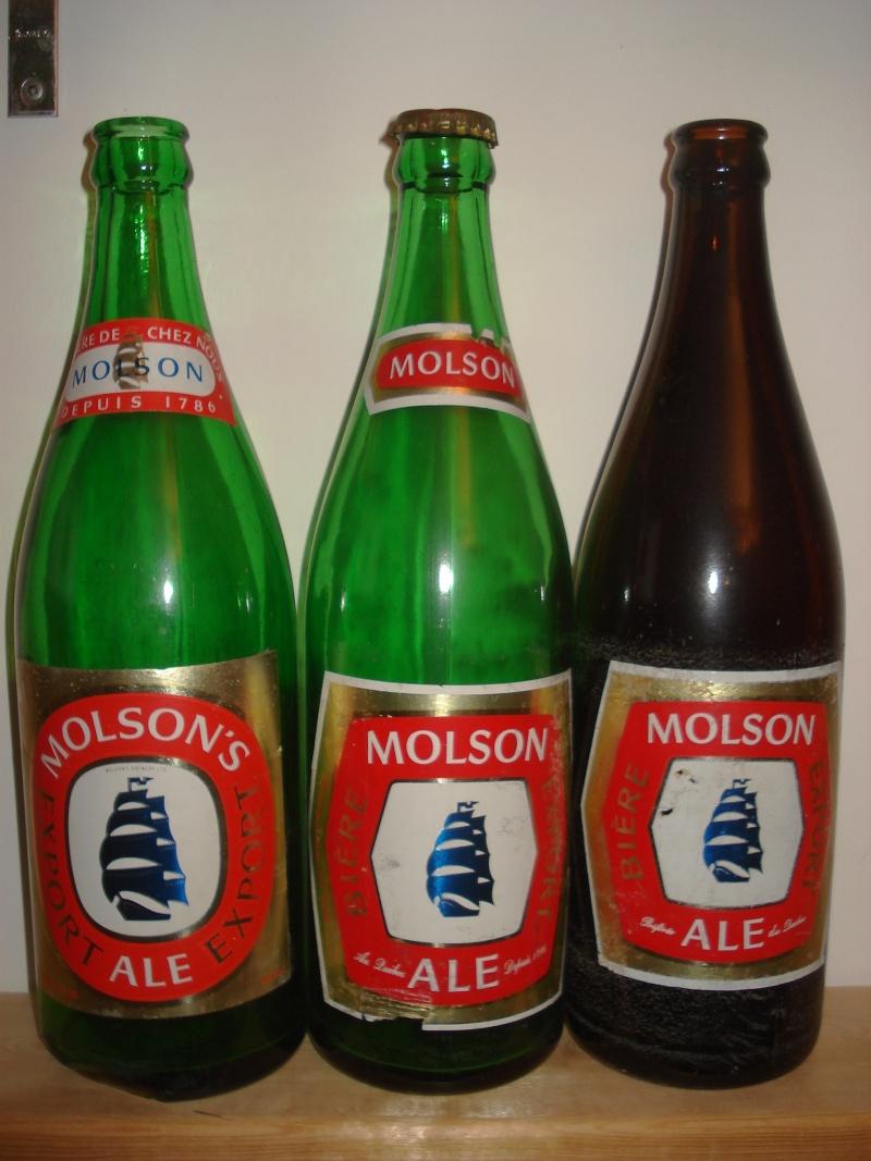 La bière que votre arrière grand-père buvait.  La Molson et autres produits 00615