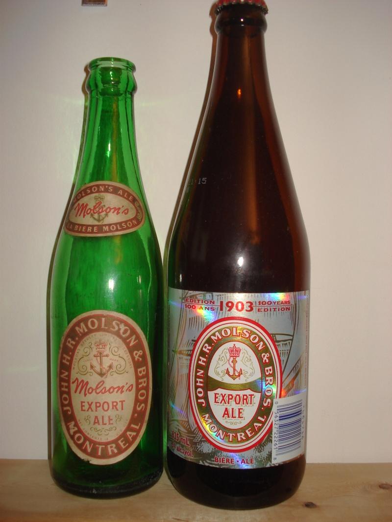 La bière que votre arrière grand-père buvait.  La Molson et autres produits 00715