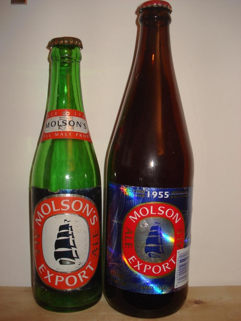 La bière que votre arrière grand-père buvait.  La Molson et autres produits 00819