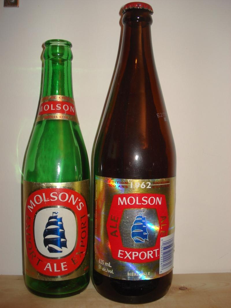 La bière que votre arrière grand-père buvait.  La Molson et autres produits 00917
