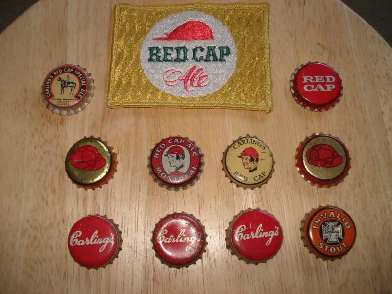 D'autres bouteilles de Red Cap et de Carling 01116