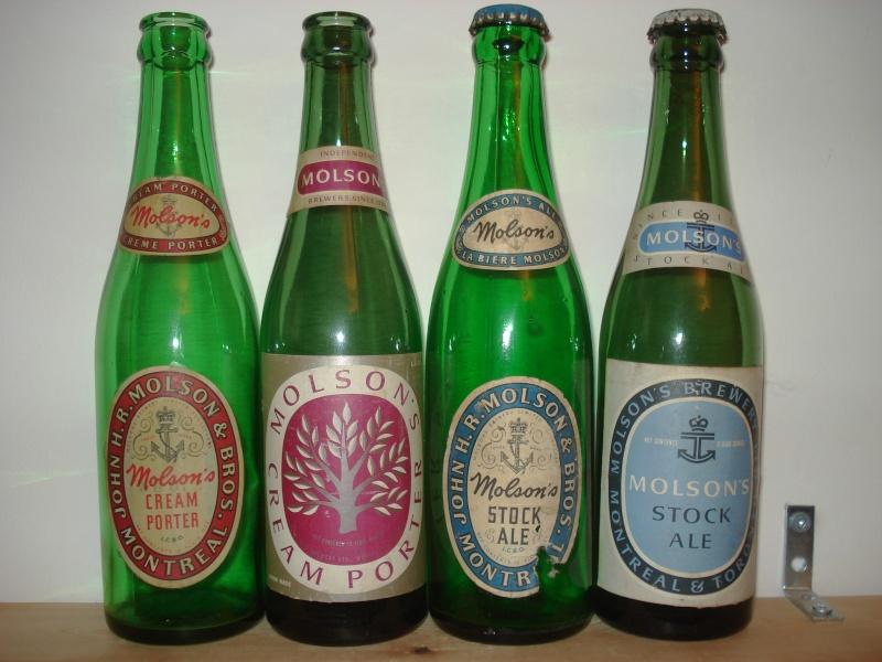 La bière que votre arrière grand-père buvait.  La Molson et autres produits 01119