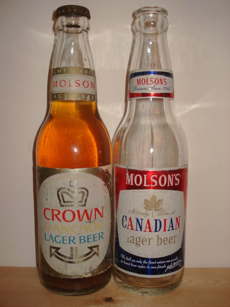La bière que votre arrière grand-père buvait.  La Molson et autres produits 01313