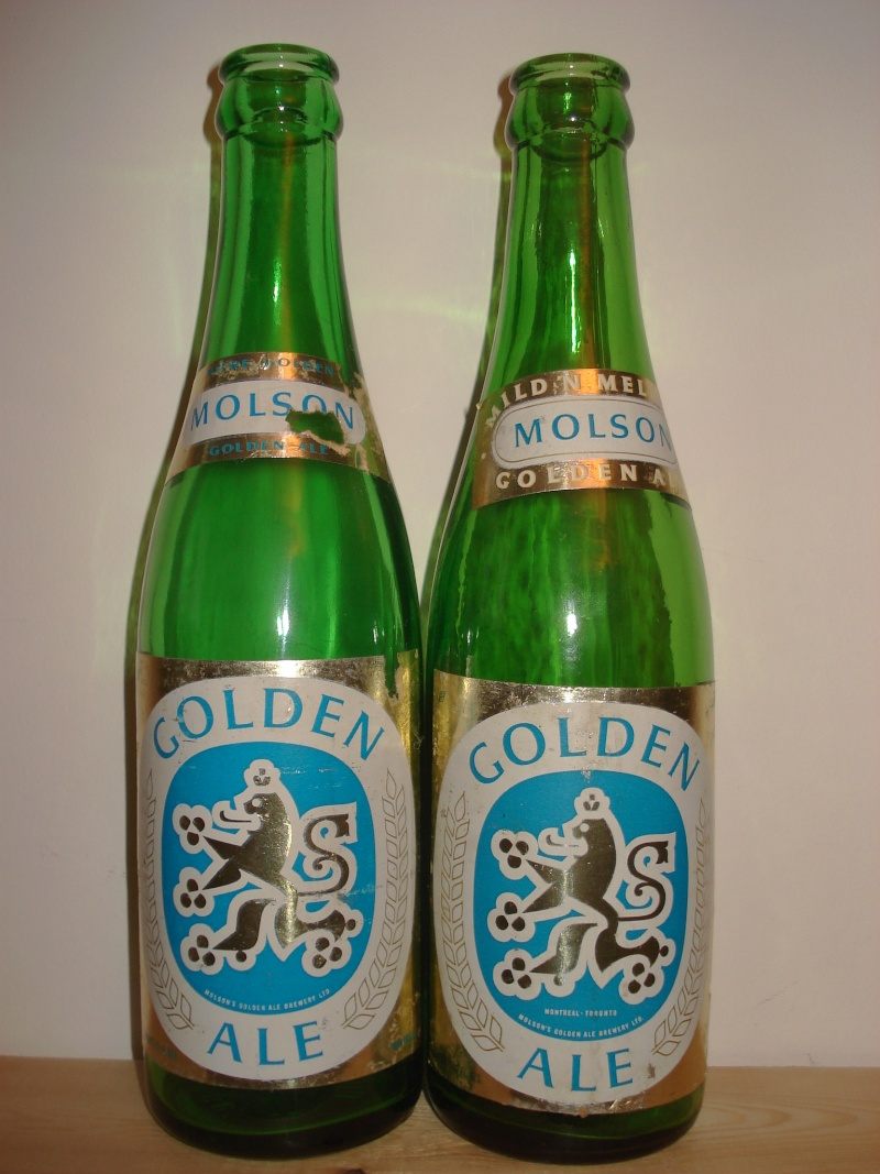 La bière que votre arrière grand-père buvait.  La Molson et autres produits 01413