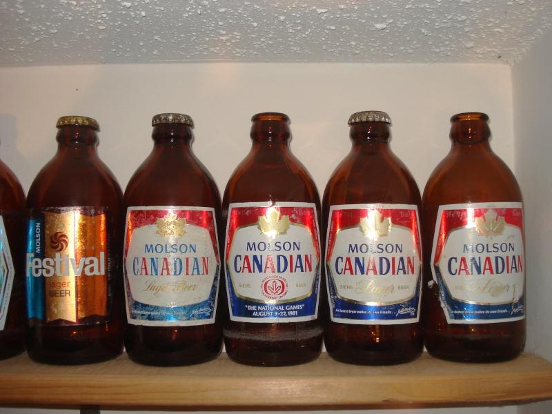 La bière que votre arrière grand-père buvait.  La Molson et autres produits 01517