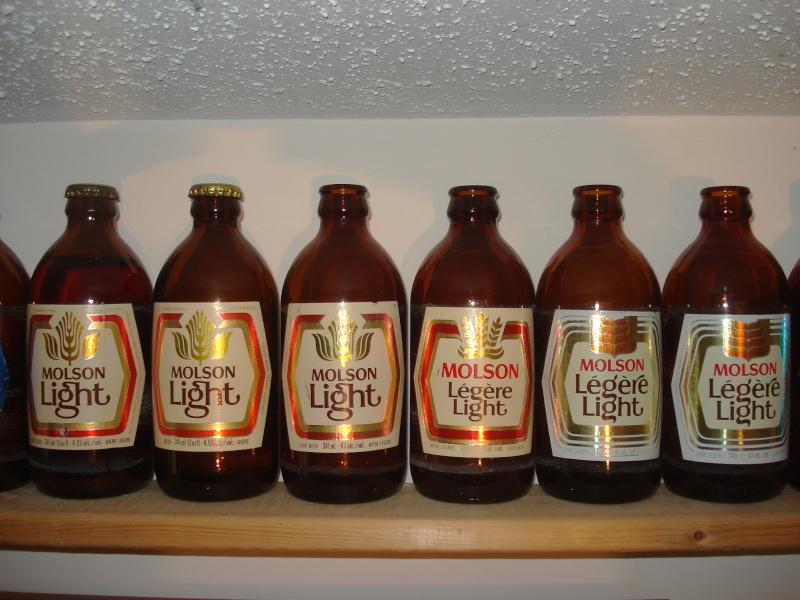La bière que votre arrière grand-père buvait.  La Molson et autres produits 01616