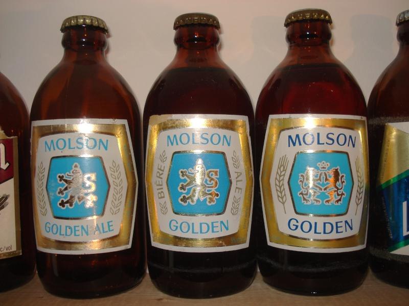 La bière que votre arrière grand-père buvait.  La Molson et autres produits 01814