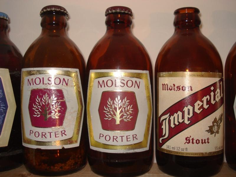La bière que votre arrière grand-père buvait.  La Molson et autres produits 01917
