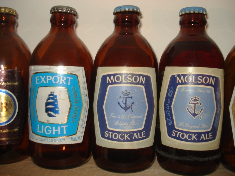 La bière que votre arrière grand-père buvait.  La Molson et autres produits 02018