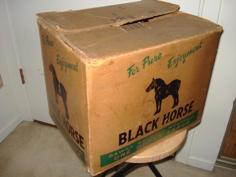 a quoi servait cette etiquette  black horse  02023