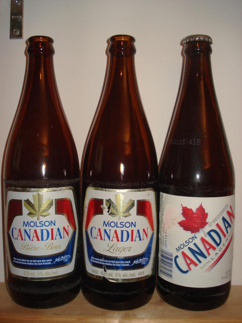 La bière que votre arrière grand-père buvait.  La Molson et autres produits 02316