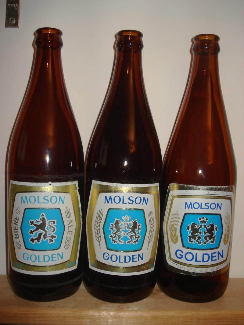 La bière que votre arrière grand-père buvait.  La Molson et autres produits 02412