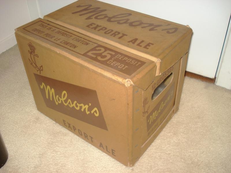 La bière que votre arrière grand-père buvait.  La Molson et autres produits 02514