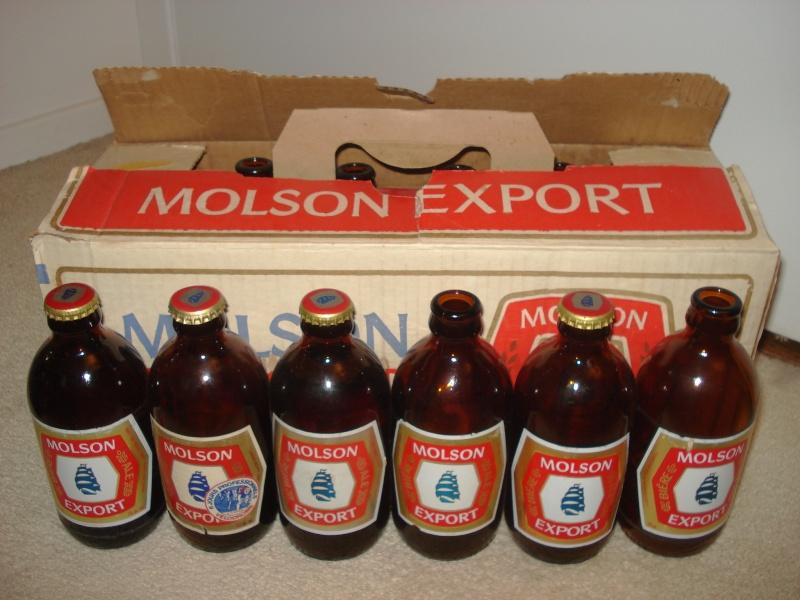 La bière que votre arrière grand-père buvait.  La Molson et autres produits 02614
