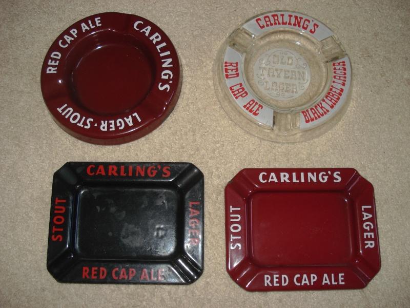 D'autres bouteilles de Red Cap et de Carling 03011