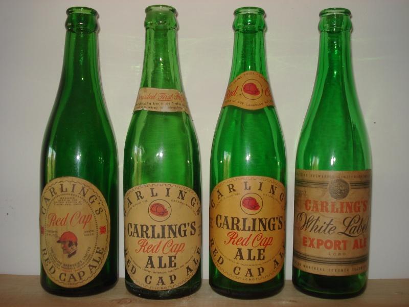 D'autres bouteilles de Red Cap et de Carling 03110