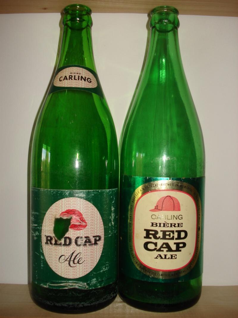 D'autres bouteilles de Red Cap et de Carling 03410