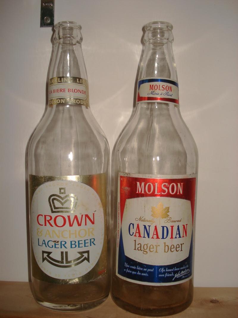 La bière que votre arrière grand-père buvait.  La Molson et autres produits 24110