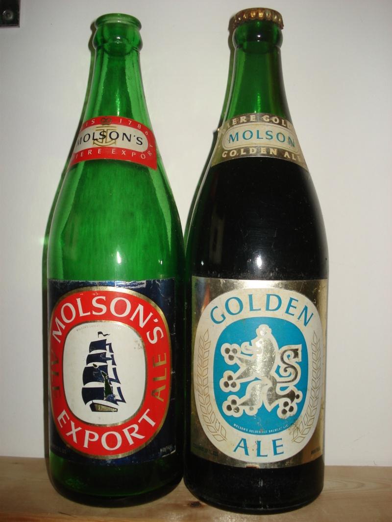 La bière que votre arrière grand-père buvait.  La Molson et autres produits 24210