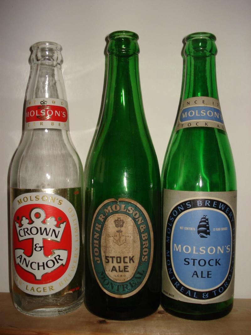 La bière que votre arrière grand-père buvait.  La Molson et autres produits 24310
