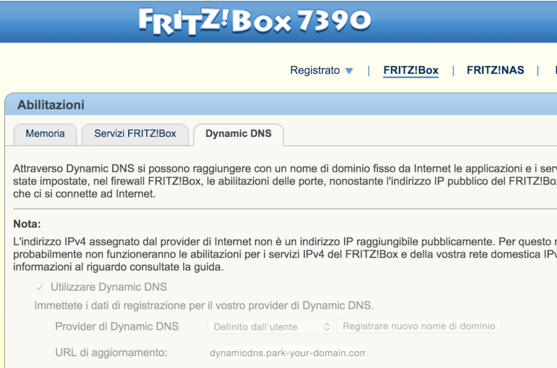 Fritz!Box 7390 - Impossibile cambiare DDNS Screen11