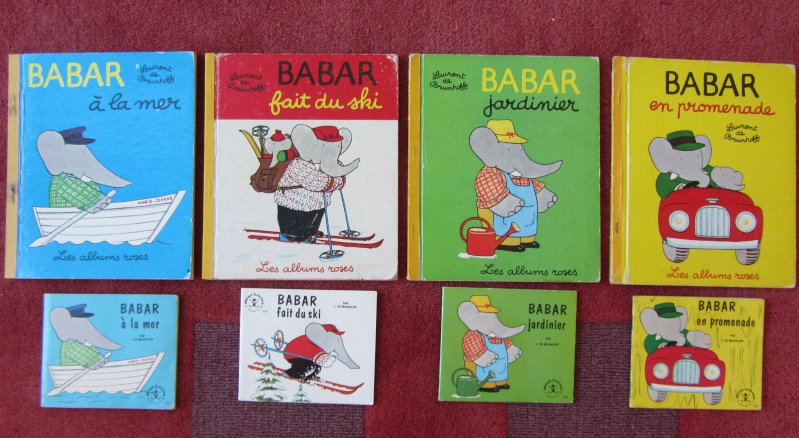 Editions originales des Albums Roses Babar - Page 2 Img_6211