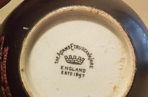 Adams Etruscan Ware creamer Waterm31