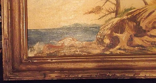 seascape oil painting Waterm54