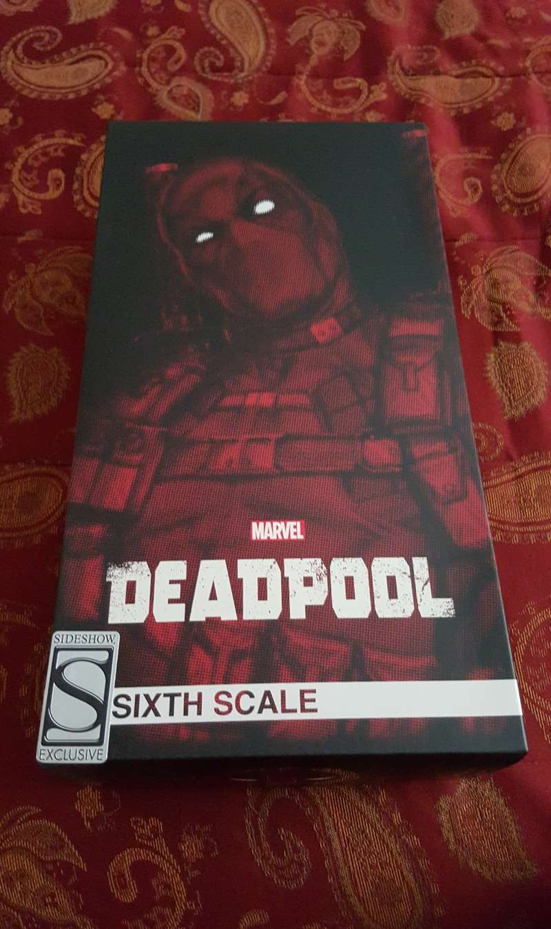 "Unboxing Sideshow's ""Deadpool"" 1/6th Scale! *Pic Heavy* 20151110"