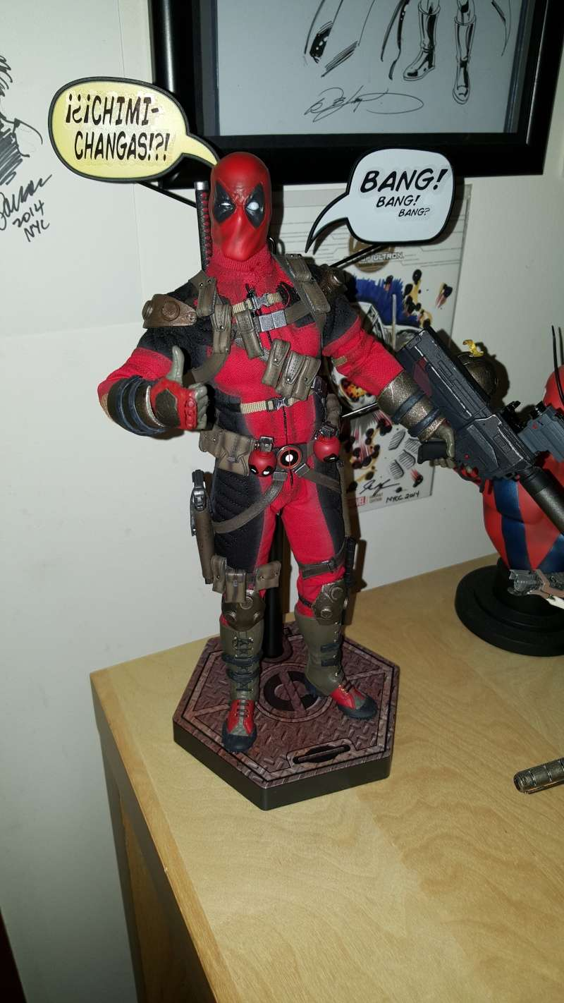 "Unboxing Sideshow's ""Deadpool"" 1/6th Scale! *Pic Heavy* 20151122"