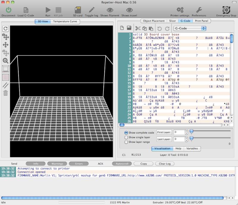 VISUALISATION OBJET EN 3D DANS REPETIER Captur11