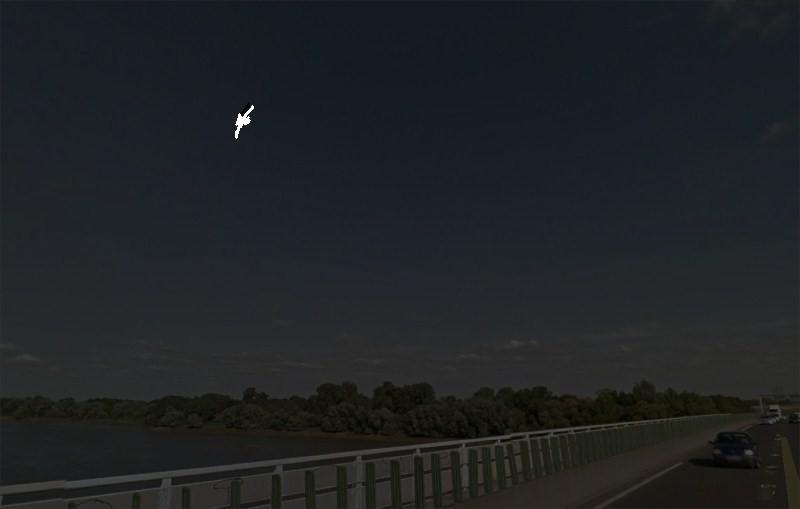 2015: le 30/09 à 7h30 - ovni en forme de légère virgule -  Ovnis à sainte luce sur loire - Loire-Atlantique (dép.44) Bellev10
