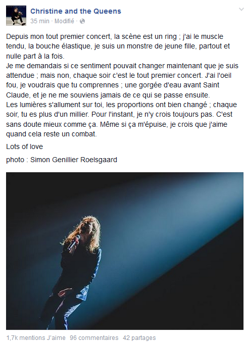 CHRISTINE & THE QUEENS - Queen of Pop. - Page 8 Christ10