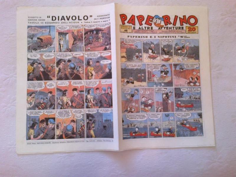 VENDO Mini Lotto Fumetti Topolino Walt Disney Paperino Giornale anni `70 Nc_68_10