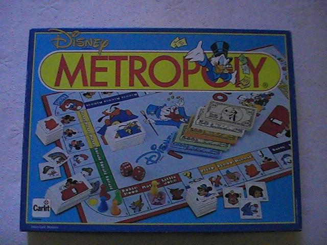 VENDO Raro Gioco da tavolo Topolino Disney Metropoly anno 1988 Pic_0010