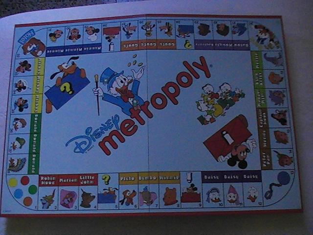 VENDO Raro Gioco da tavolo Topolino Disney Metropoly anno 1988 Pic_0011