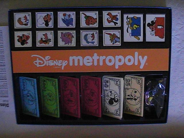 VENDO Raro Gioco da tavolo Topolino Disney Metropoly anno 1988 Pic_0012