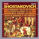 Chostakovitch Symphonie n°14 Chan_810