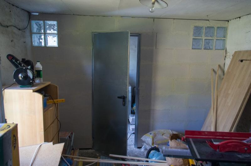 Monter un mur en béton cellulaire avec une porte... 23092010