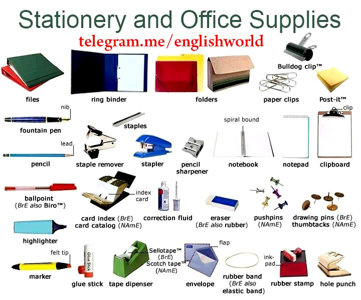 Vocabulario  de papelería  y material escolar Img_2011