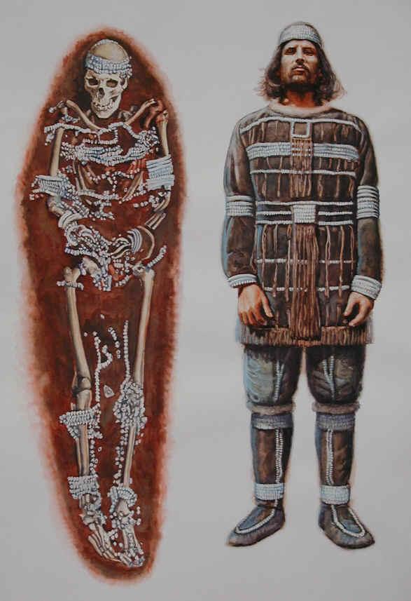 Les vêtements paléolithiques. Gravet10