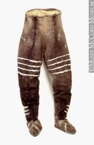 Les vêtements paléolithiques. Pantal10