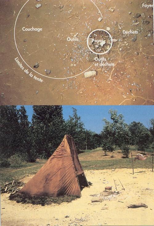 ___ Reconstitutions d'habitats en plein-air. Pincev16