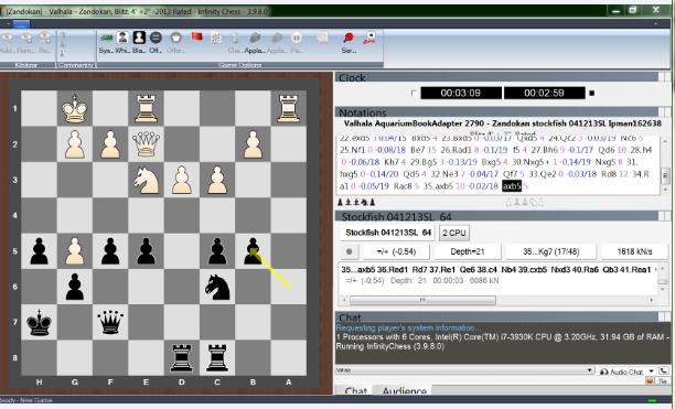 Infinity Chess GUI (Free Online Server) - Time to Enjoy Chess Like Playchess.com Free Ghu1010