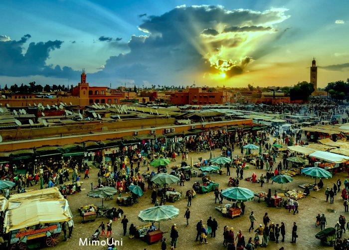 Marrakech c'est l'ancetre du Maroc Marrak10