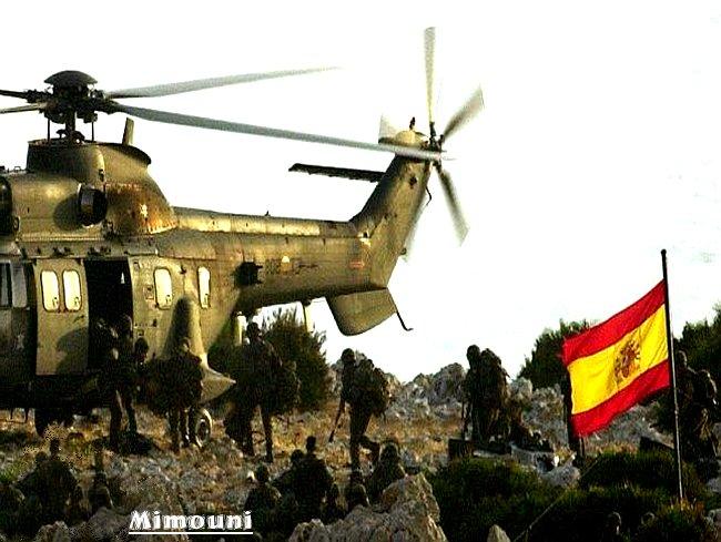Le royaume espagnole n'arrive pas a se remettre de sa domination par les berberes Marocains Pereji10