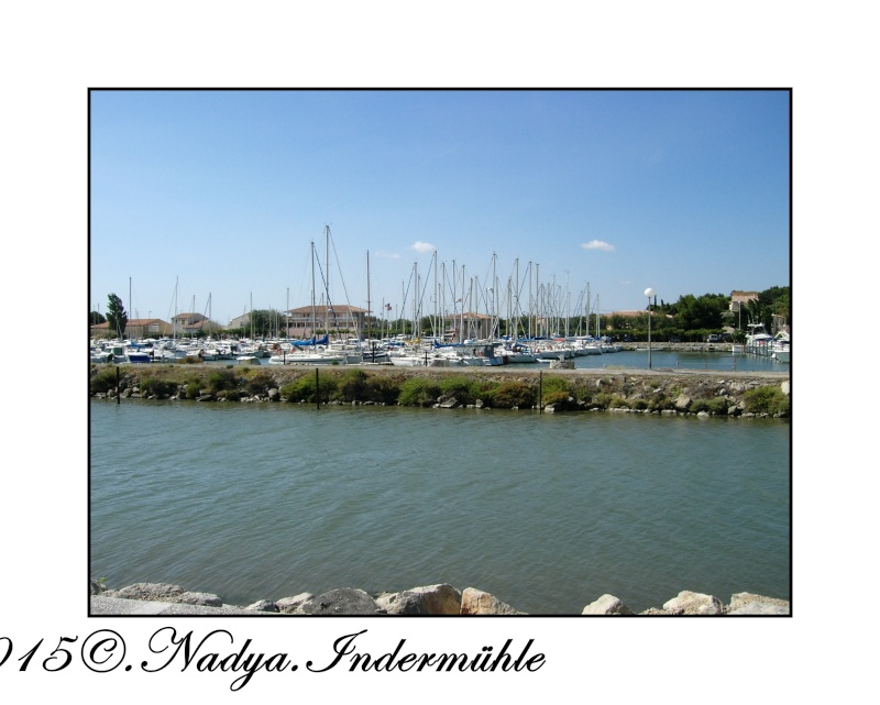 Gruissan et son port  Cadre100