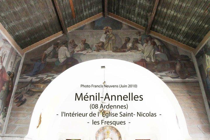 Ménil Anelles, et son église St Nicolas Mynil-10