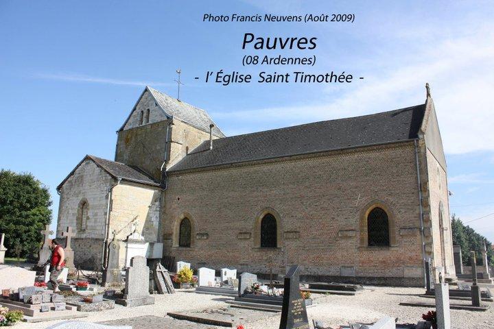 Pauvres et son église St Timothée Pauvre10